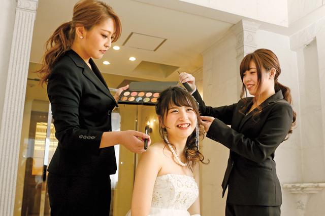 ブライダルスタイリストを目指すなら大阪の美容学校【ヴェールルージュ美容専門学校】へ